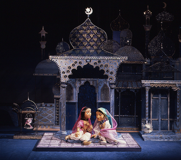 Aladin und die Wunderlampe (Bühne 1988)  Die zauberhaften